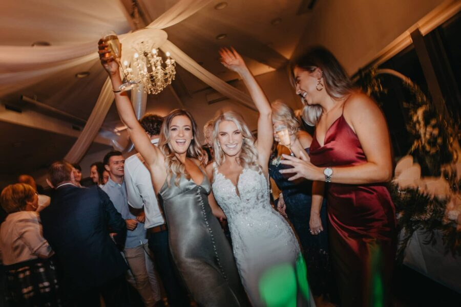 Wedding DJ Bride Dancefloor
