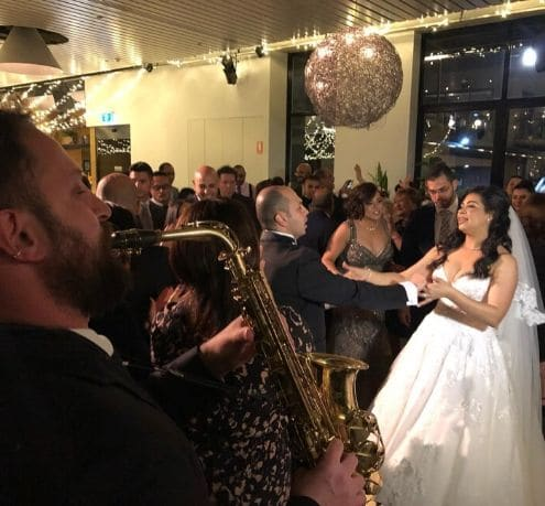 Saxophone | Bride and Groom