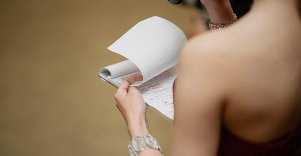 Wedding MC Script